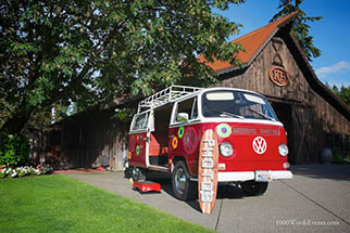 1000 Words VW Photo Bus Service available in Seattle and Tacoma 1968 VW van