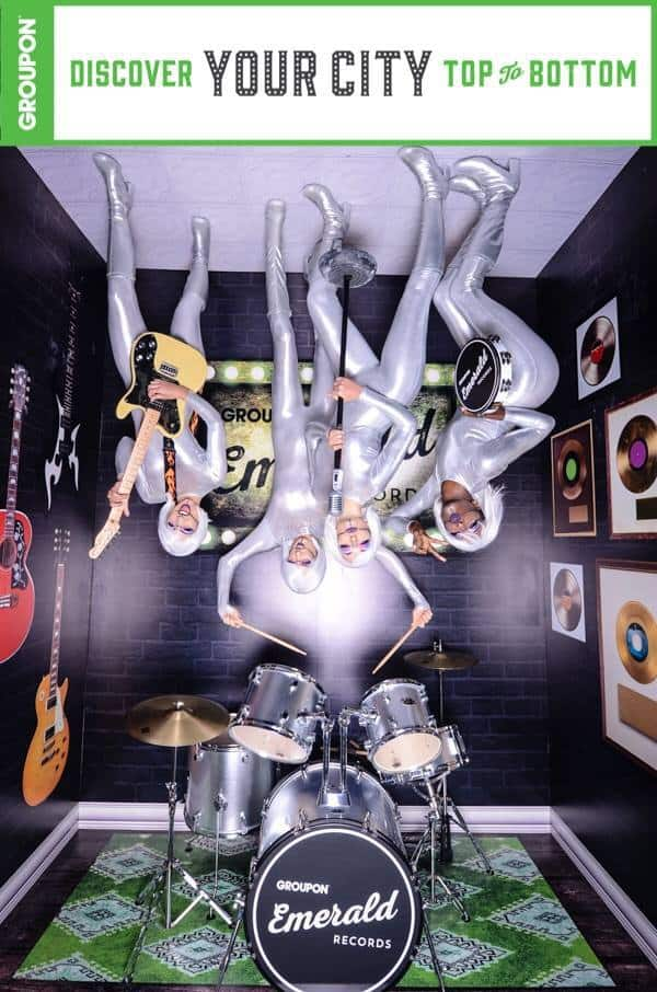 Four women in an upside down photo set SOBEWFF