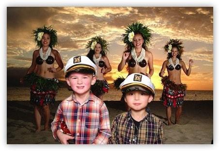 Hawaiin Green Screen