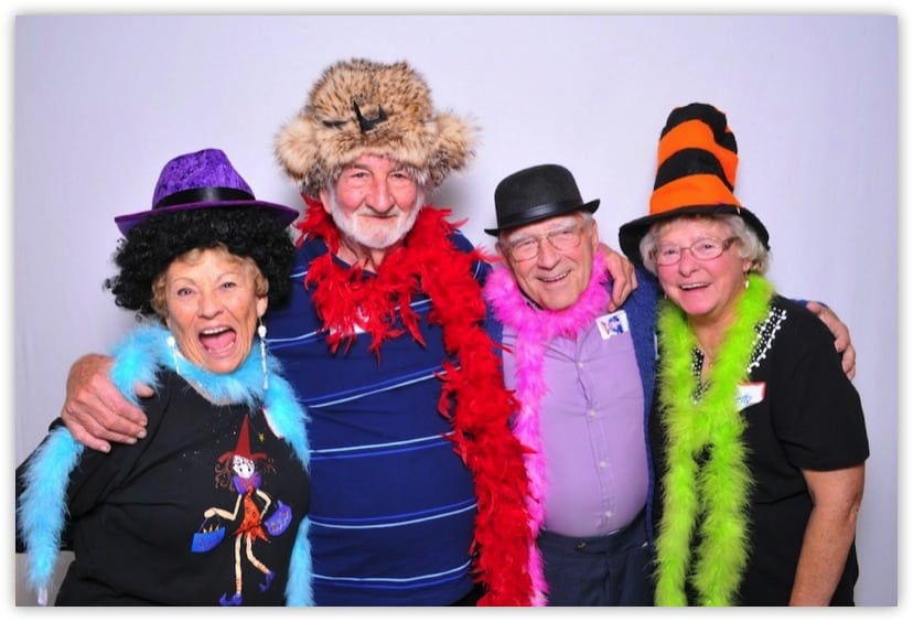 80th birthday party photo booth fun Party Booths