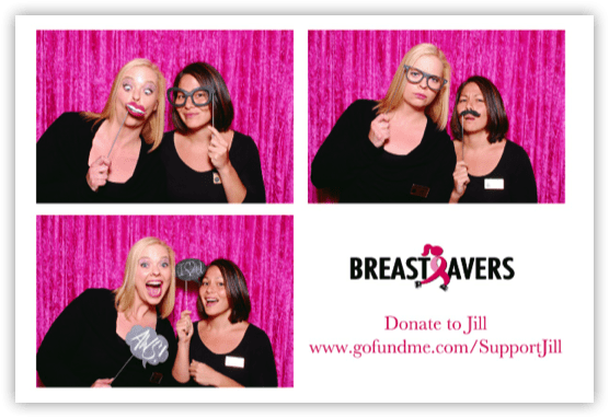 breast savers Photo strip example 1000 Words Photo Booth