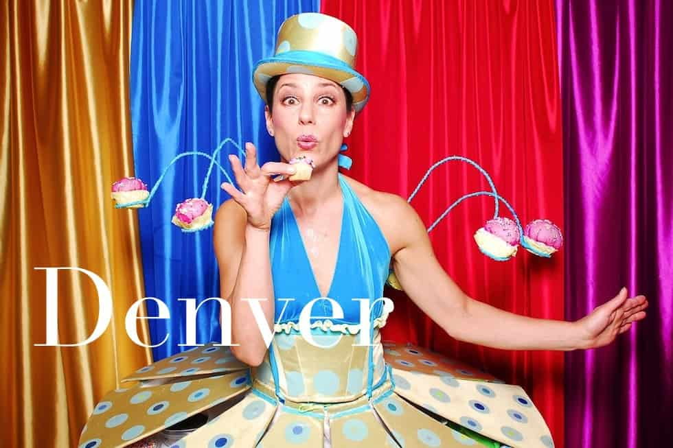 The cupcake lady Denver Photo Booth Rental