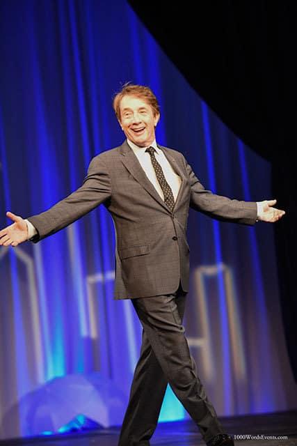 Comedian Martin Short at Gildas Club Luncheon Seattle