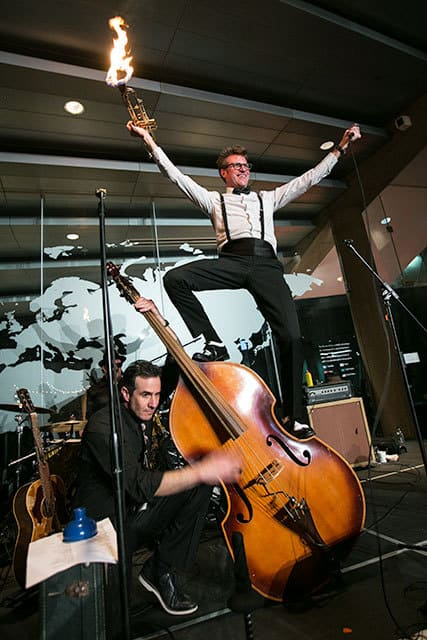 The Dusty 45s performing at Museum of Glass Tacoma 1000 Words events photography