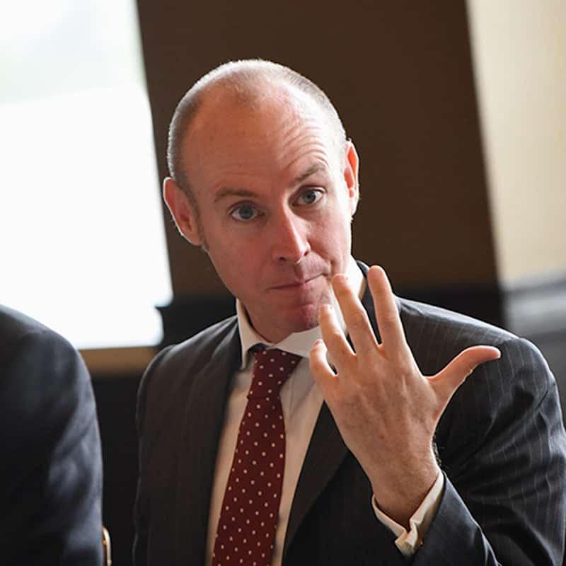 Daniel Hannan, member of the European Parliament from England