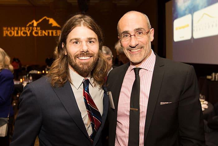 Two men at the Washington Policy dinner Bellevue Washington