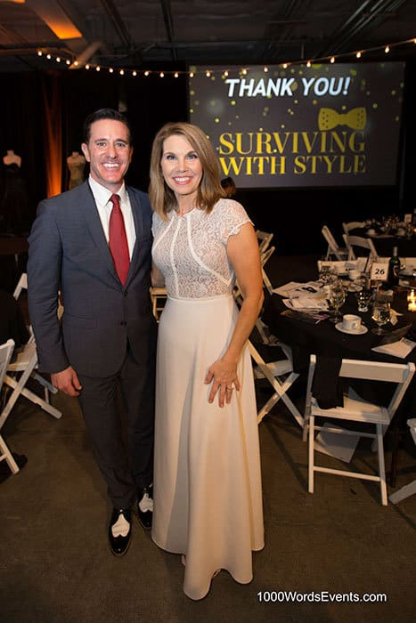 Matt Lorch and Michelle Millman at surviving in style gala
