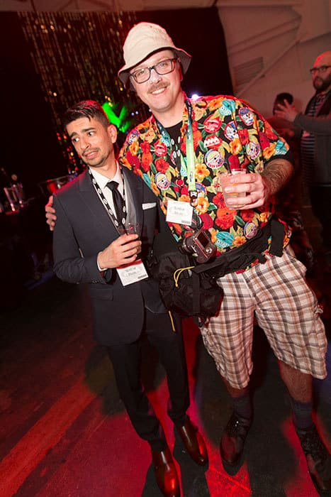 2 men at the Macfest celebration photo groghed by 1000 words event photography
