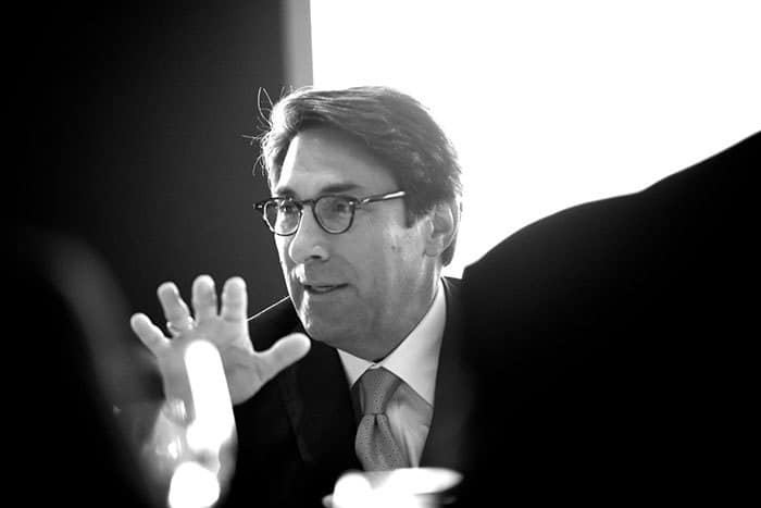 Jay Sekulow speaking at a roundtable luncheon 1000 words events photography