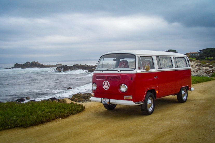 Volkswagon -Van-Monteray-California VW Photo Bus 1968 VW van