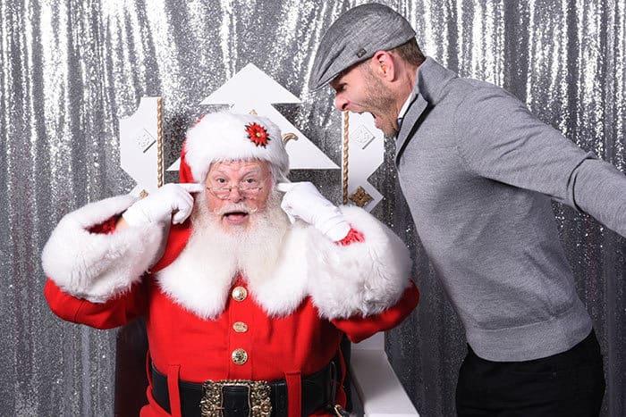 Santa Claus photo shoot