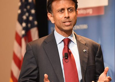Govenern Bobby Jindal giving a speech for the Washington Policy Center