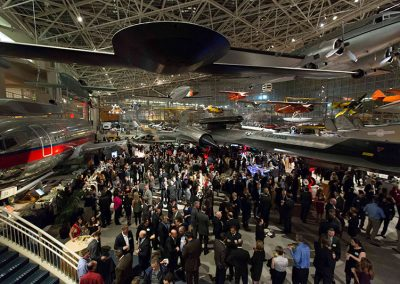 Holady Party at the Museum of flight in Seattle